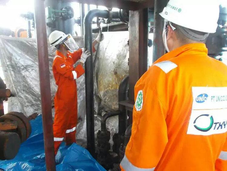 Indonesia leak stoppage of Tianjin Xiangyue U.S. branch
